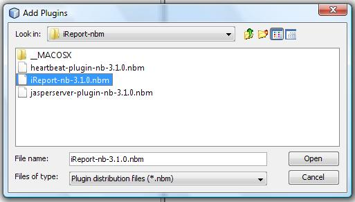 how to add jasper report library in netbeans